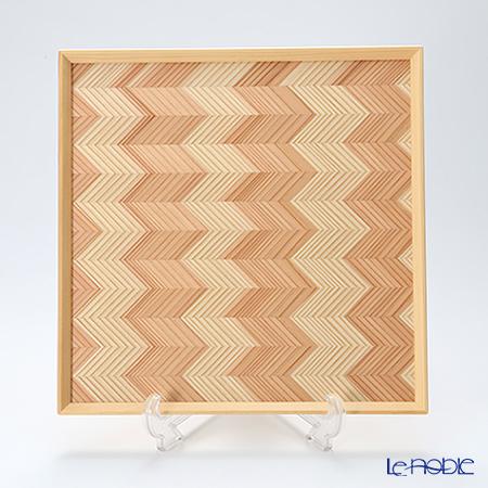 YUI TABLE WEAR ユイテーブルウェア(岐恵木工・吉田) かくぼん(多目的トレイ) Y-004 31.5×31.5cm
