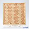 YUI TABLE WEAR ユイテーブルウェア(岐恵木工・吉田)かくぼん(多目的トレイ) Y-004 31.5×31.5cm
