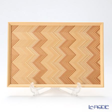 YUI TABLE WEAR ユイテーブルウェア(岐恵木工・吉田)ちゅうぼん(多目的トレイ) Y-022 21.5×31.5cm