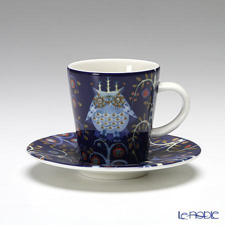 イッタラ(iittala) タイカ ブルー エスプレッソカップ&ソーサー 100ml