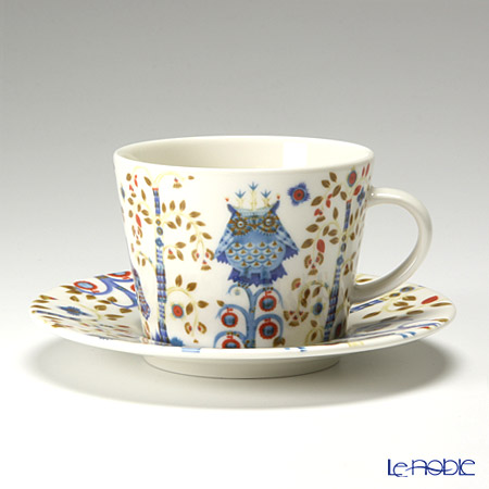 Iittala Taika White Coffee Cup & Saucer 200ml