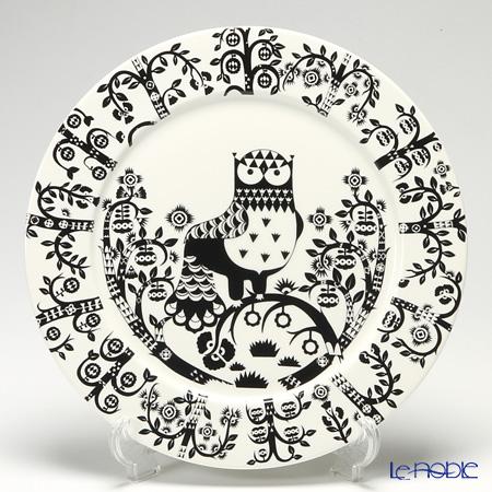 Iittala 'Taika (Owl)' Black Plate 30cm