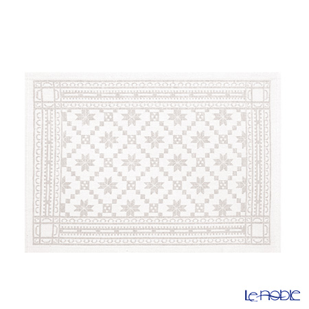 EKELUND place mat 35 x 48 cm 08 orteblarose beige cotton 55% linen 45%