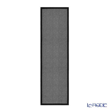 エーケルンド テーブルランナー 35×120cmゴセガ ブラック 90 100%コットン