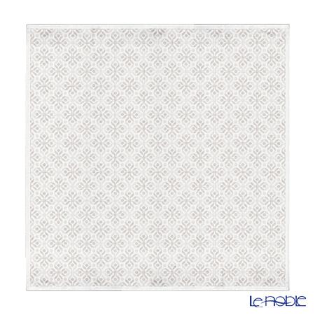 エーケルンド テーブルクロス 150×150cmアンナ ベージュ 08 コットン55%リネン45%