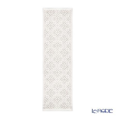 エーケルンド テーブルランナー 35×120cmアンナ ベージュ 08 コットン55%リネン45%