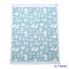 EKELUND blanket 72 x 105 cm Moomin Valley blue 100% certified organic cotton