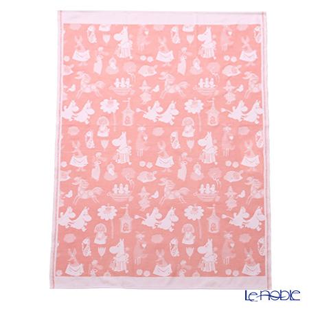 Ekelund Moomin Baby Blankets 72 x 105 cm Moomin Valley, pink, 100% Organic Cotton