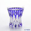 Horiguchi Glass Edo Kiriko Blue K7341B Rock Glass