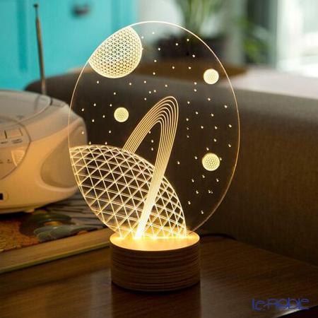 BULBING 3Dアートランプ ギャラクシー ※USB電源仕様(ACアダプターとの併用可能)※