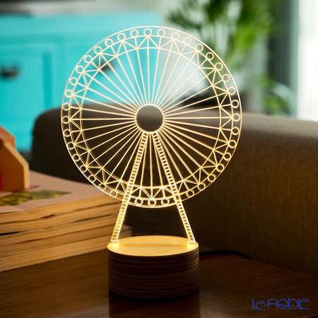 BULBING 3Dアートランプ フェリス ※USB電源仕様(ACアダプターとの併用可能)※
