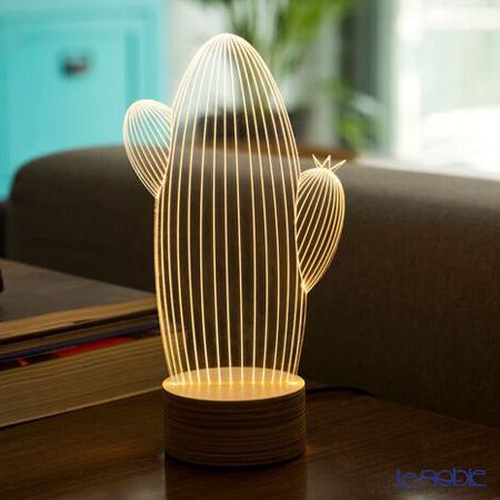 BULBING 3Dアートランプ サボテン ※USB電源仕様(ACアダプターとの併用可能)※