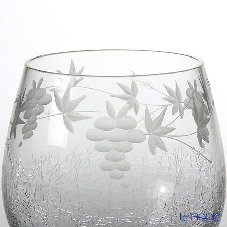 Tajima Glass 'Hanayuki / Grape Vine' TG05-006-2 OF Tumbler 230ml (set of 2)