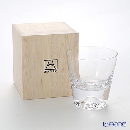 【伝統工芸】田島硝子 富士山グラス ロックグラス 270ml TG15-015-R 【田嶌】【Fujiグラス】