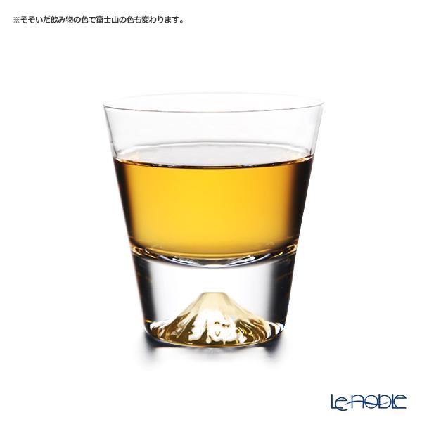 Tajima Glass 'Mt. Fuji Glass' Rock Glass (S) TG20-015-MR【传统工艺】田岛玻璃 '富士山' 威士忌杯 (小)
