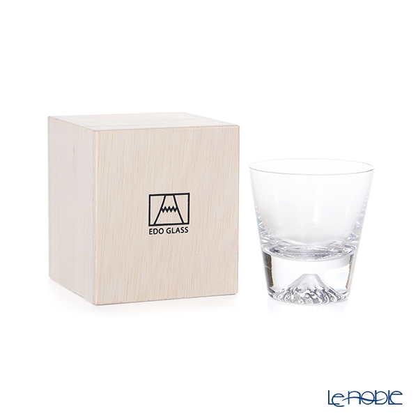 【伝統工芸】田島硝子 富士山グラスミニロックグラス TG20-015-MR 【田嶌】【Fujiグラス】