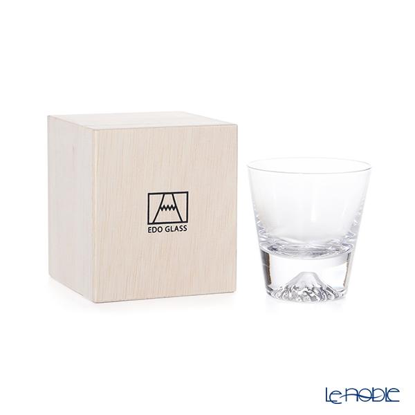 【伝統工芸】田島硝子 富士山グラス ミニロックグラス 150ml TG20-015-MR 【田嶌】【Fujiグラス】