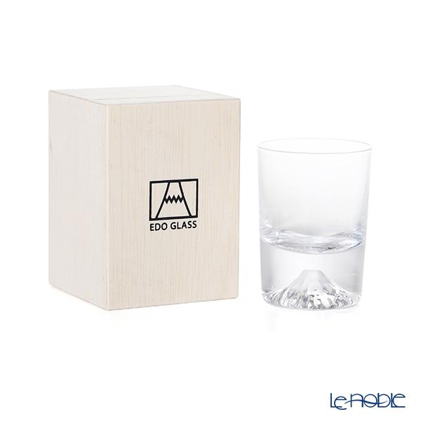 【伝統工芸】田島硝子 富士山グラス冷酒グラス/ショットグラス 90ml TG20-015-CS 【田嶌】【Fujiグラス】