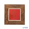 [one-of-a-kind] Takano Chikko / Bamboo Craft 'Kinkaku-ji Reclaimed Wood' S-A Picture Frame 27x27cm