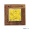 [one-of-a-kind] Takano Chikko / Bamboo Craft 'Kinkaku-ji Reclaimed Wood' S-B Picture Frame 27x27cm