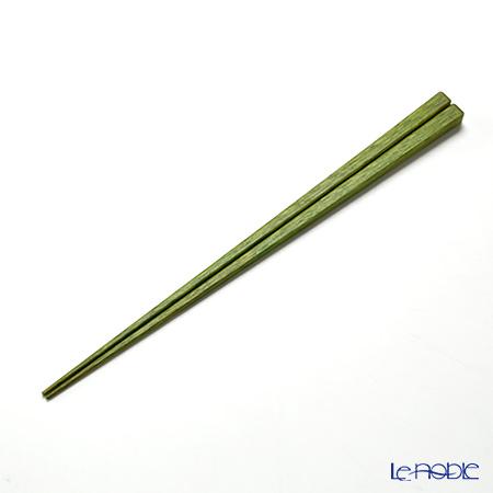 高野竹工 御園箸若草 22.5cm