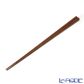 高野竹工 八角箸紋竹 摺り漆 05506S