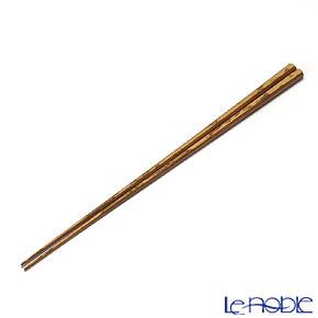 高野竹工 八角箸 紋竹 摺り漆 05506S