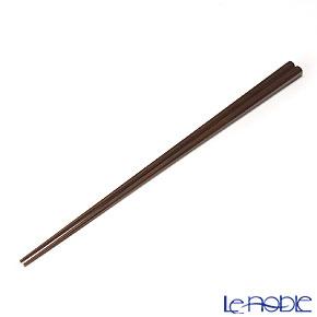 高野竹工 八角箸燻し煤竹 摺り漆 05508S