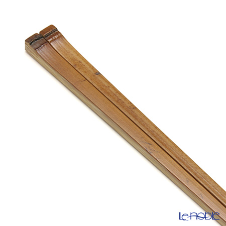 高野竹工 本煤竹天節箸トクサ加工 05802