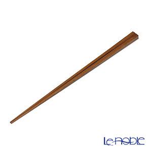 高野竹工 本煤竹スリム箸摺り漆 05803S