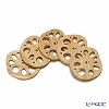 TAKANO CHIKKO 5 pcs coaster set lotus root shape