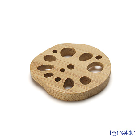 Takano Chikko / Bamboo Craft 'Vegetable (Lotus Root)' Chopstick Rest (set of 5)