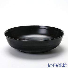 Japanese Lacquerware (Wajima) Black Bowl 14.5x4cm C-1-2