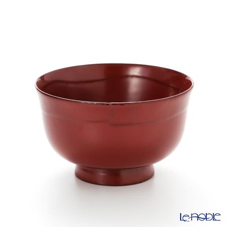 【伝統工芸】輪島塗 はぞり碗 総本朱 A-2-1
