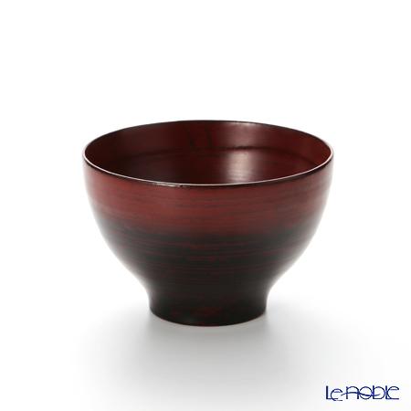 【伝統工芸】輪島塗 なごみ碗 本朱ぼかし A-6-2