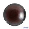 Japanese Laqeur ware (Wajima) Chubachi black blur and B-8-1
