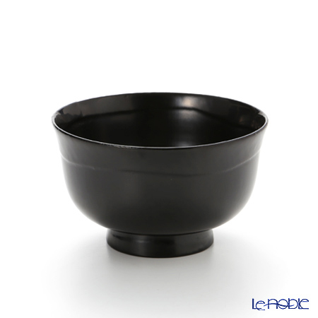 Japanese Lacquerware (Wajima) 747 Bowl with an outward-curved rim A-2-2