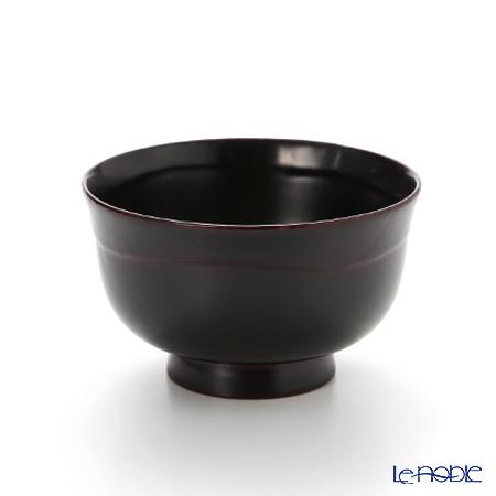 【伝統工芸】輪島塗 はぞり碗 溜色 A-2-3