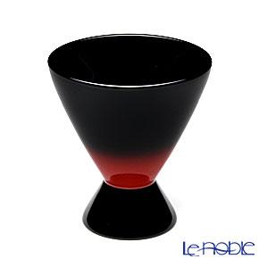 Japanese Lacquerware (Wajima) Akebono Nuri Red&Black Sake Cup 6.5 x 7cm 70 cc