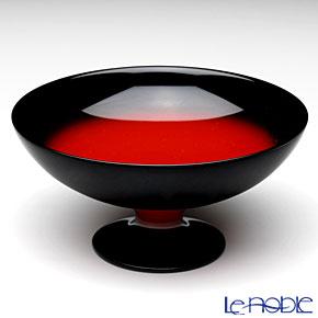 Japanese Lacquerware (Wajima) Akebono Nuri Red&Black Dessert Cup 12 x 6 cm