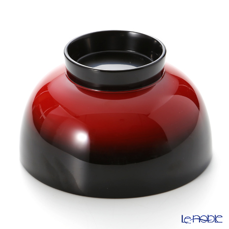 Wajima Lacquerware 'Akebono' Soup Bowl 12cm