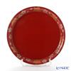 Japanese Lacquerware (Wajima) plates and coasters Spring and autumn Mr Masaaki Sakaguchi gratis