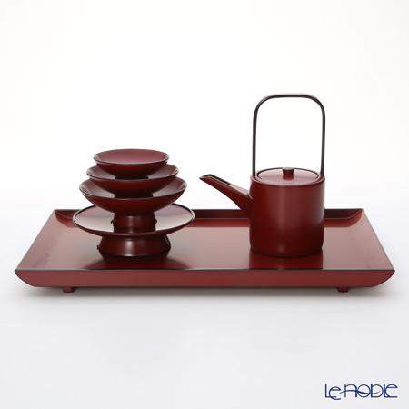 【伝統工芸】輪島塗 たまり朱 姫屠蘇器