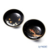 Wajima Lacquerware 'Koi ni Syunjyu / Spring Autumn' Bowl with lid