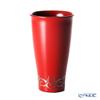 Wajima Lacquerware 'Tribal' Red Beer Cup Tumbler