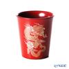 Wajima Lacquerware 'Ryu / Dragon' Red Free Cup