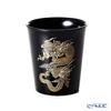 Wajima Lacquerware 'Ryu / Dragon' Black Free Cup