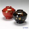 Japanese Lacquerware (Wajima) couple bowls Shunju 2 pair
