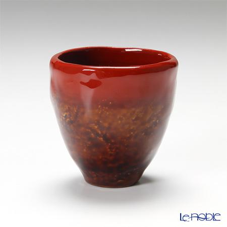 【伝統工芸】輪島塗 乾漆ぐい呑み赤