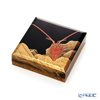 [one-of-a-kind] Wajima Lacquerware 'Ise Ebi / Lobster' Square Incense Container 6x6cm